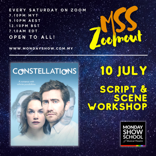 Zoomout Saturday - CONSTELLATIONS