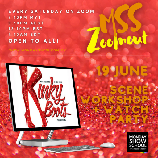 Zoomout Saturday - KINKY BOOTS