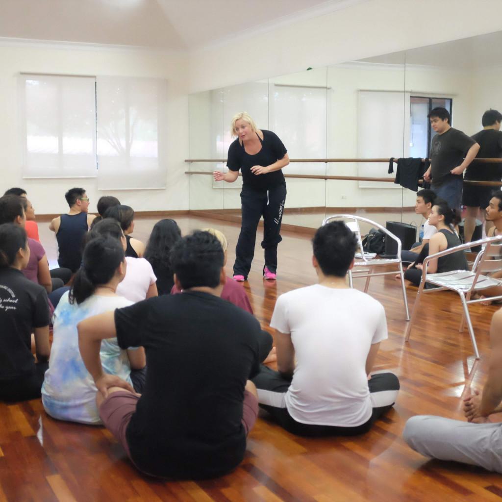 Nikki Snelson Broadway musical theatre Legally Blonde workshop in 2015
