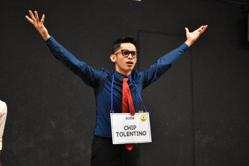 Zickry Yusoff playing the role of Chip Tolentino in 25th Annual Putnam County Spelling Bee the Musical