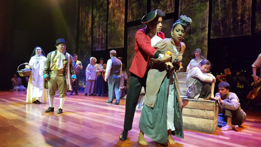 Zickry Yusoff performing in Euphrasia the Musical